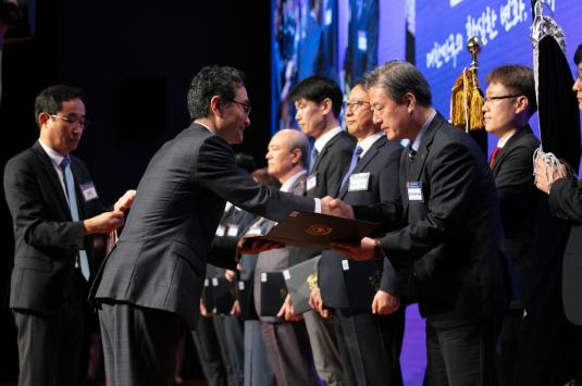 DGIST Wins Presidential Citation on the 55th Invention Day