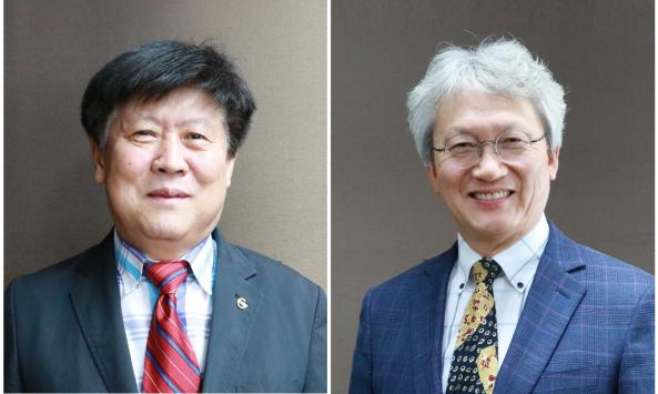 Professor Chil Min Kim and Senior Researcher Ho Young Kim as New Vice Presidents of DGIST 이미지